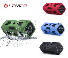 Outdoor Portable Bluetooth NFC Aux Stereo Remote Micro Power Bank Speaker