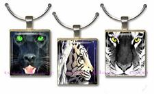 Tigers Leopards & Big Cats Scrabble Game Tile Pendant Charm Cat Lover Gift