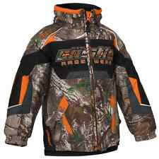 Castle X™ Toddler Bolt Insulated Snowmobile Jacket - Realtree™ Orange - 72-522_