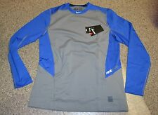 Nike Pro HYPERWARM Dri-FIT Fitted Crew DEFY COLD Baseball 704706-480