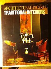 The Architectural Digest Traditional Interiors FIRST EDITION w/Dust Cover VG