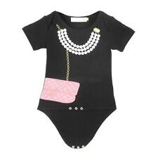 Infants Toddler Baby Girls Outfits Jumpsuit Romper Bodysuit Baby Clothes 0-12 M