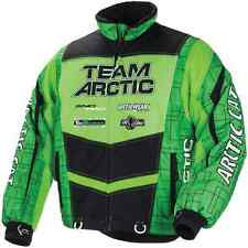 Arctic Cat™ Youth Team Arctic Insulated Snowmobile Jacket - Lime - 5251-26_
