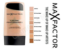 Max Factor Lasting Performance Long Lasting Foundation 35ml Shades Available