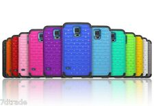 2x Shockproof Diamond Crystal Rhinestone Bling Fitted Case for Iphone 5 Samsung