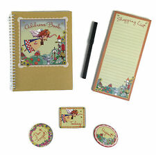 New Seasons Country Fairy Wipe-Off Address Book Set Gift Set (2 Variations) New