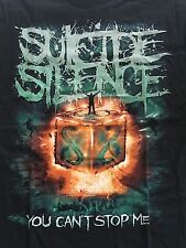 SUICIDE SILENCE - YOU CAN'T STOP ME T SHIRT  ( S,M,L,XL,XXL)