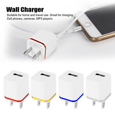 1/2/4 Ports Multi USB Portable Travel Wall Charger Power Adapter US/EU Plug