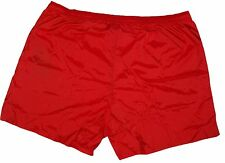 Zegna Sport Mens Red Swimshorts Beach Shorts Size XL