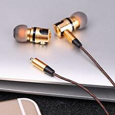 Detachable In-ear HiFi Earphones Earphone X46M Wired Golden And Gray Plug