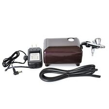 0.4mm 2cc Airbrush Compressor Kit for Makeup Tattoo Cake Model Hobby Crafting