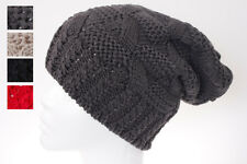 Knitted Crotchet Beanie