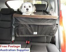 Large Booster Dog Car Seat - helps car sickness & anxiety, for 1 or 2 dogs