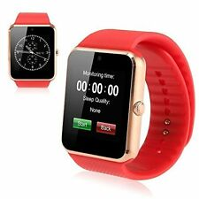 GT08 Bluetooth Smart Wrist Watch GSM Phone SIM For Android IOS Smartphone NIB