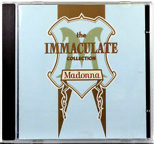Madonna - Immaculate Collection - CD - Sire 1990 - 17 Songs - Excellent!