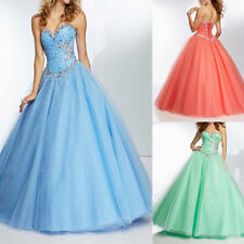 New Wedding Bridesmaid Gown Prom Party Evening Quinceanera Dress Stock Size 6-16