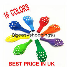 10 - 100 Polka Dot Latex Helium Spotty Balloons Quality Party Birthday Wedding