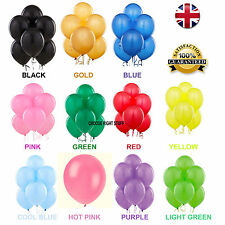 10 -100 Latex LARGE Helium Balloons Birthday Party High Quality Baloons Wedding