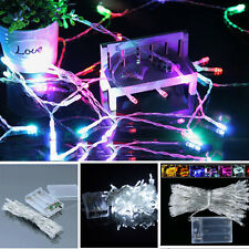 Outdoor Multi color 3M 5M 10M 100LED Christmas Fairy Party String Lights Decor