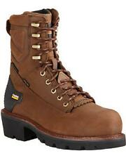 MEN'S ARIAT POWER LINE COMPOSITE TOE H2O LINEMAN/LOGGER WORK BOOTS 10018566