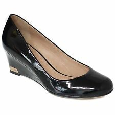 TORY BURCH Astoria Patent Leather Wedge - Store Display US 5