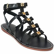 TORY BURCH Kira Gladiator Flat Leather Sandal US7.5
