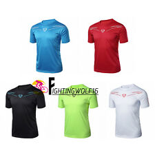 LINGSAI Blouse Men Summer Sunscreen T-shirt Top Breathable Cool Fitness Exercise