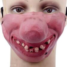 New Horrible Scary Mask Party Clown Latex Mask Cosplay Half Face Masks Costume