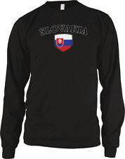 Slovakia Country Crest Flag - Slovak Republic Slovak Pride  Long Sleeve Thermal