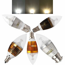 E12 E14 E27 B22 B15 Dimmable LED Candelabra Candle Bulb Lights 6W 8W 10W  Lamp