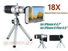 18X Optical Zoom Lens Camera Telescope Tripod Case Cover For Apple iPhone 6
