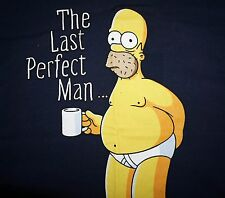 The Simpsons TV Show Homer ~ The Last Perfect Man ~ Funny T Shirt Mens S-L New
