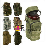 Molle Zipper Camo Water Bottle Medic Dump Pouch Small Mess Pouch War Game Travel