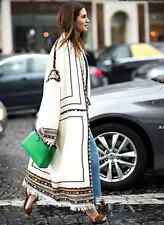 ISABEL MARANT IVORY BRAYTON COAT T1 UK 8