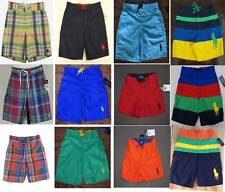 Polo Ralph Lauren  Kid Boys' Swim Suit / Board Shorts Sizes 2T 3T 4 5 6 NWT
