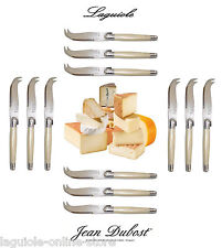 Laguiole Dubost - Pearl - Cheese Knives Set (for 4-6-8-10-12 people) Flatware