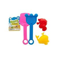Sand Toy Set Perfect For Playing at the Beach and Making Sandcastles Plastic