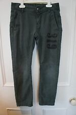 Boys Benetton green skinny jeans age 7-8 years