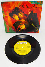"THE CRAMPS EYEBALL IN MY MARTINI 1991 BIG BEAT 1st PRESS 7"" + P/S --- unplayed!"