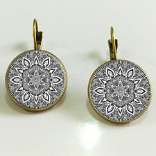 Bohemia style earrings Vintage Earrings antique bronze jewelry accessories gift