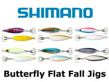 Shimano Butterfly Flat Fall Jigs **CHOOSE SIZE AND COLOR**