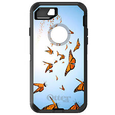 CUSTOM OtterBox Defender for iPhone 6 6S 7 PLUS Flying Monarch Butterflies