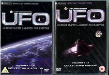 UFO (GERRY ANDERSON) COMPLETE SERIES VOLUMES 1-8 (1-4 & 5-8) *NEW & SEALED*