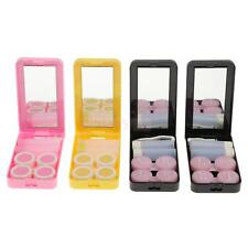 Contact Lens Case Cute Travel Storage Soak Kit Hard Holder Container Box