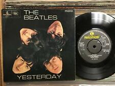 BEATLES YESTERDAY~ORIG 1965 PARLOPHONE UK EP~GEP 8948~STRONG VG+~ACT NATURALLY