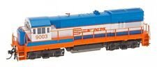 InterMountain 49457 HO Ferrocarriles Nacion Mex GE U18B w/DCC (2-T Blue, Orange)