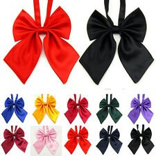 Colors Adjustable Girl Women Bow Tie Bowknot Tie Kids Dancing Wedding Party