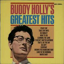 Buddy Holly Greatest Hits vinyl LP album record German 0052.027 MCA CORAL 1979