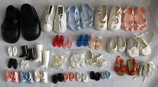 Vintage doll shoes pick and mix; Cinderella Sindy Pedigree Mamselle