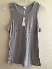 JAMES PERSE WOMEN'S CASUAL MASCLE TANK TOP, SHADOW: STYLE #WCMH3306CU-Sz.3/LARGE